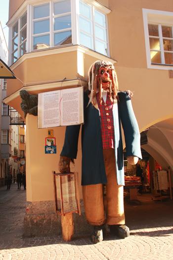 strada dei giganti Innsbruck
