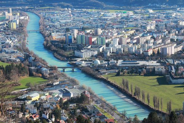 veduta panoramica Innsbruck
