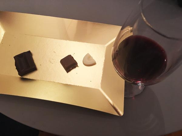 degustazione vino e cioccolato