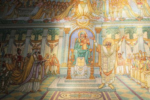 mosaici basilica notre dame de fourvière lione