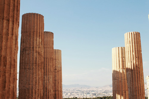 vista da acropoli