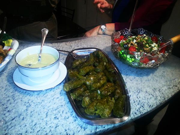 antipasti cucina greca