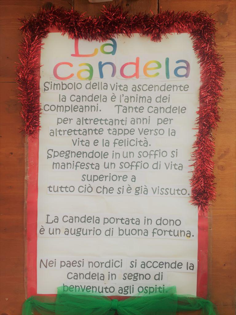significato della candela Candelara
