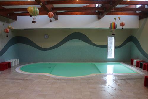 piscina dei piccoli parco termale Theia