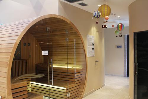 sauna e bagno turco per i piccoli