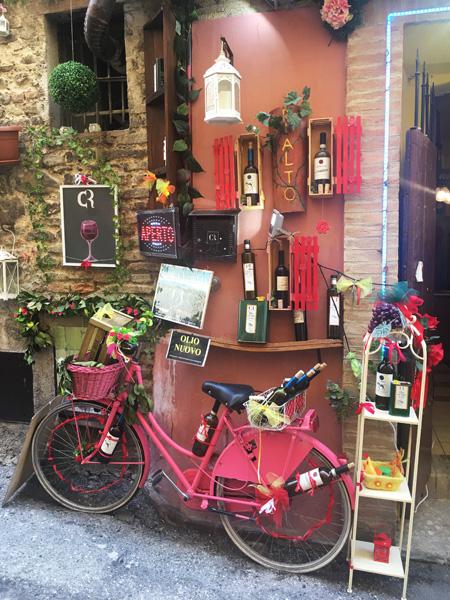 Montefalco: vino e olio