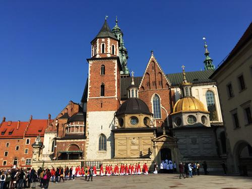 La Collina del Wawel e la cattedrale del Wawel