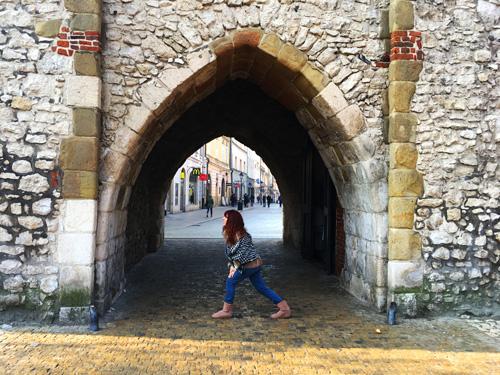 Porta Floriana Cracovia