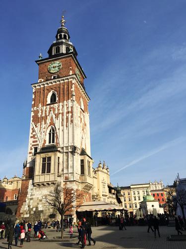 Torre del Municipio cracovia