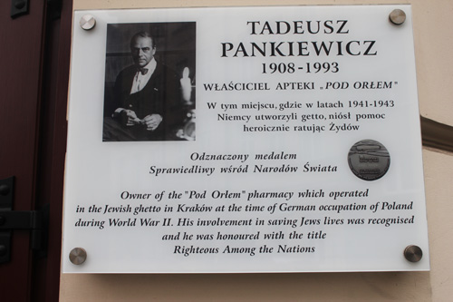 tadeusz pankiewicz cracovia