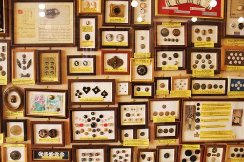 i bottoni al museo del bottone