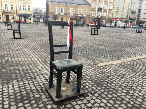 piazza eroi del ghetto cracovia
