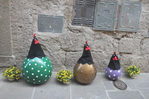animalio decorativi vitorchiano peperino in fiore
