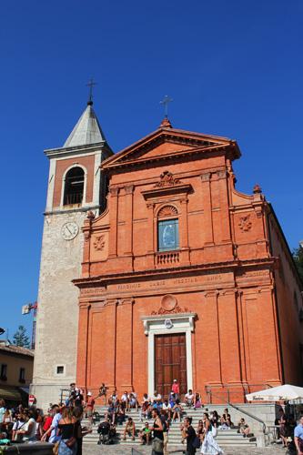 chiesa pennabilli artisti in piazza
