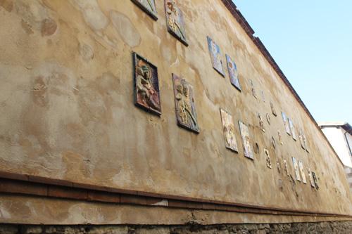 via delle madonne pennabilli artisti in piazza