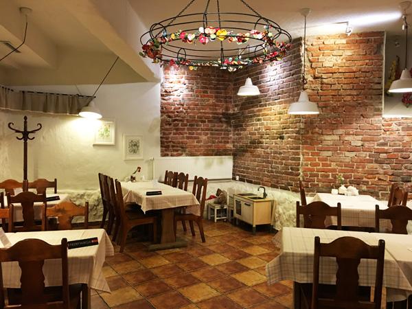 Kutchia y Doroti: il ristorante