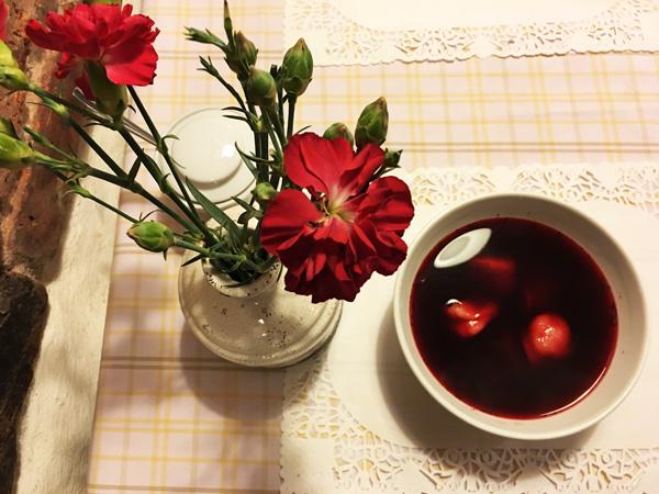 Kutchia y Doroti: zuppa di rapa rossa