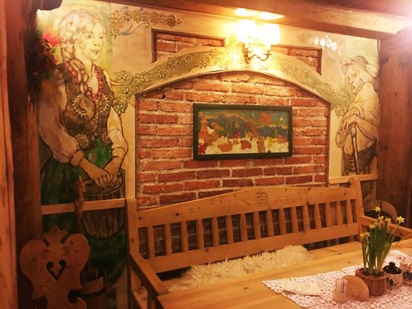 Morskie Oko: gli interni