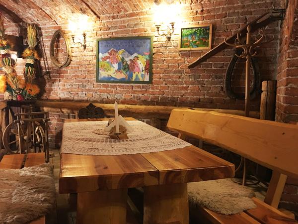 Morskie Oko Cracovia: il ristorante a Cracovia