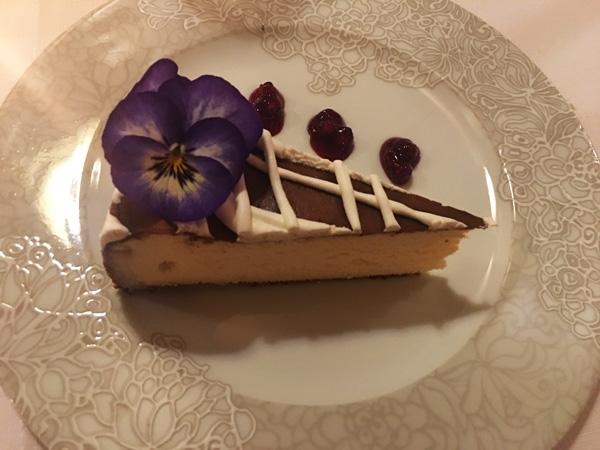 Pod Nosem: la cheesecake