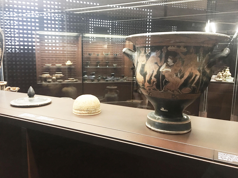 museo etrusco a Trequanda