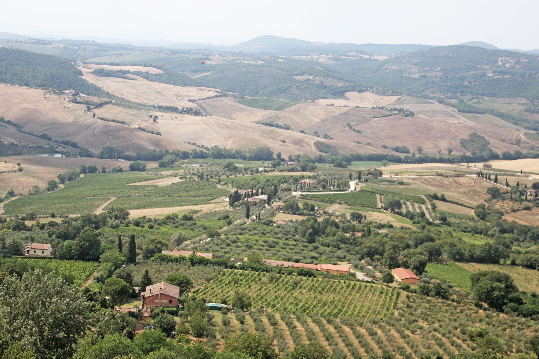 montepulciano e dintorni: panorama