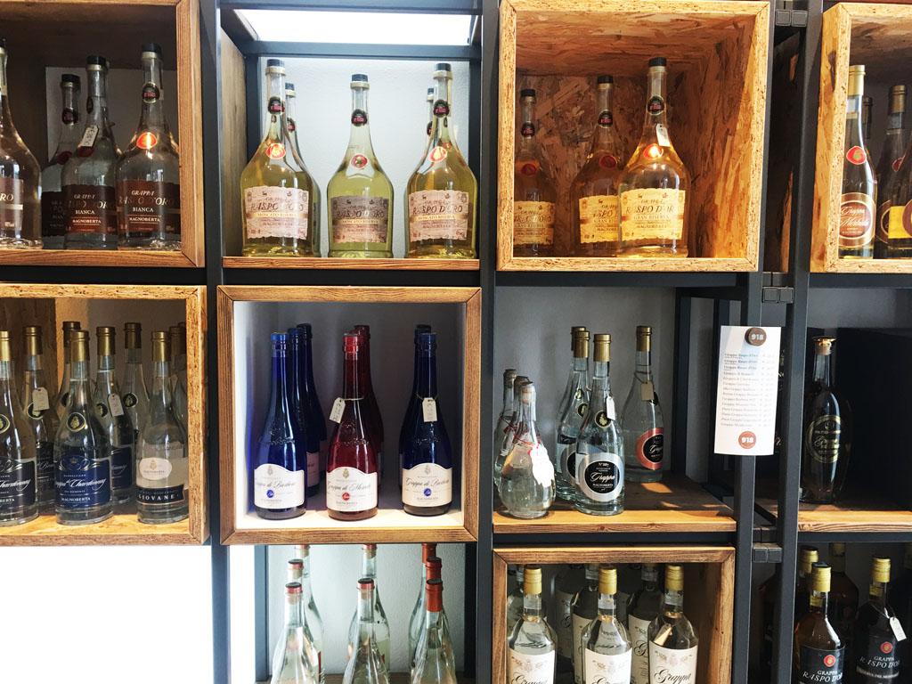 la distilleria Magnoberta