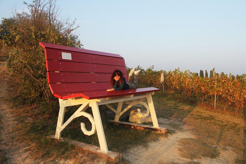 le big bench del Monferrato