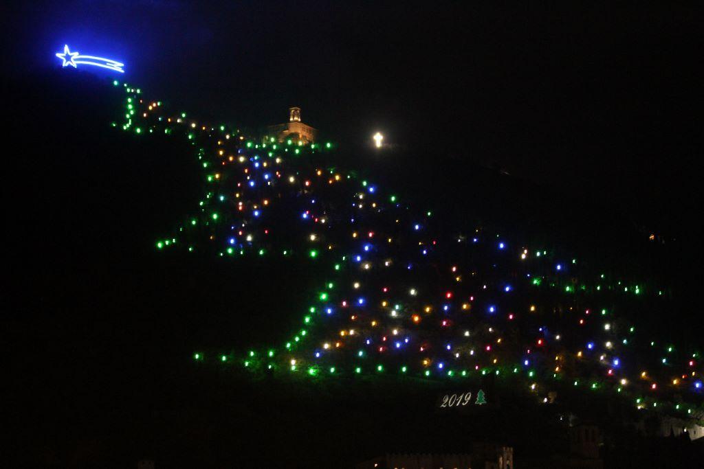 albero di Natale Gubbio