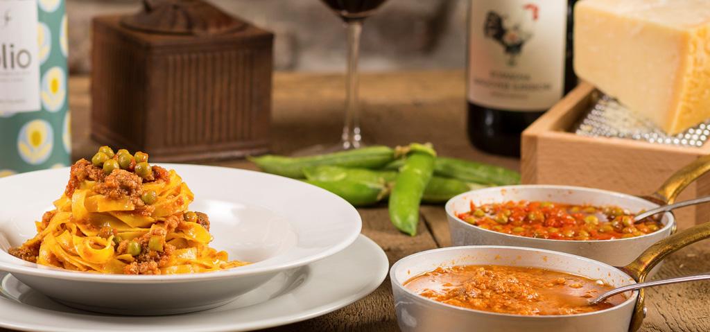 cucina romagnola: tagliatelle al ragù