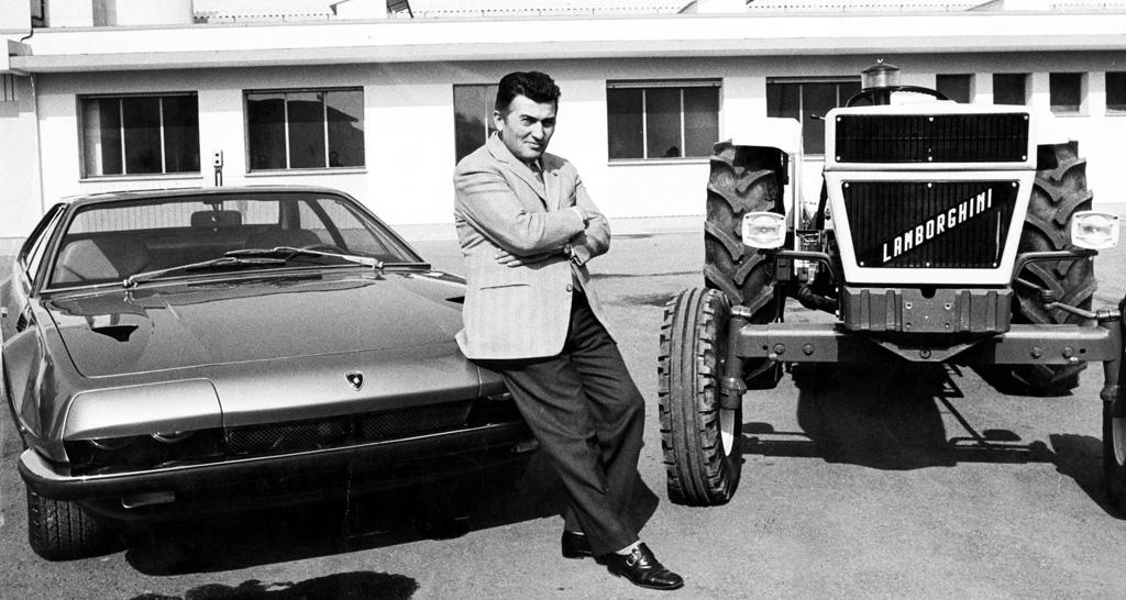 ferruccio lamborghini e la passione per le auto