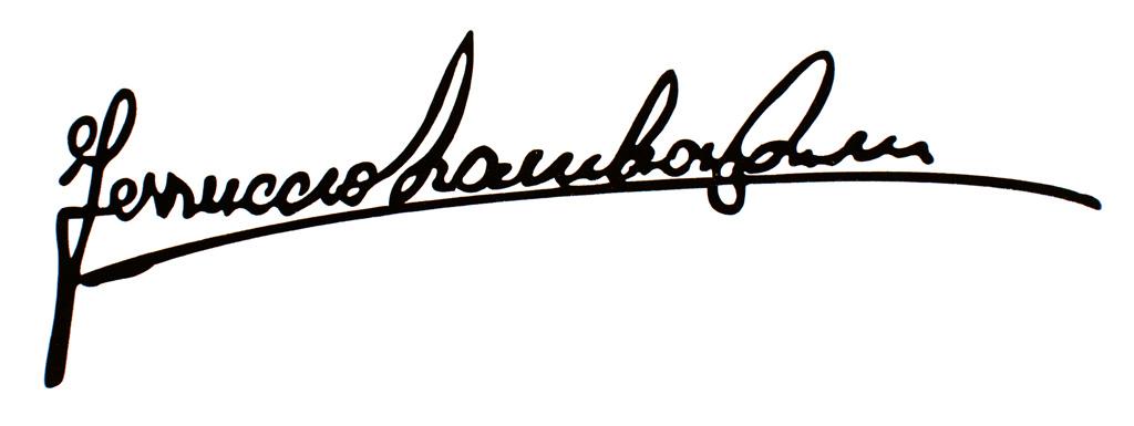 ferruccio lamborghini firma