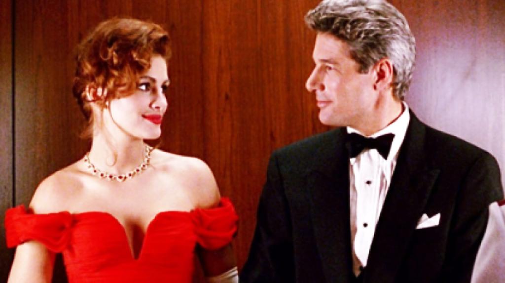 pretty woman: l'abito rosso