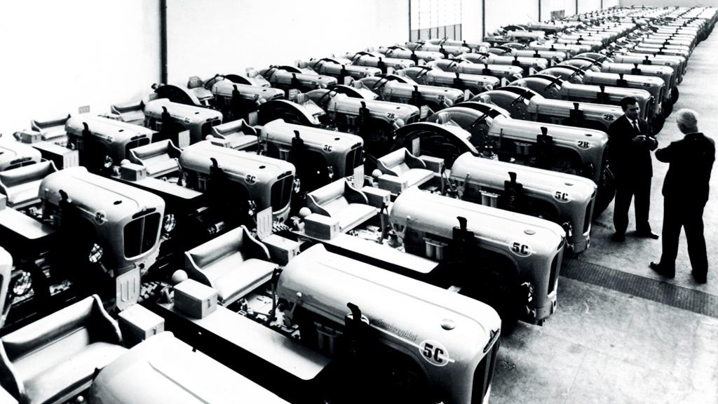 la lamborghini trattori