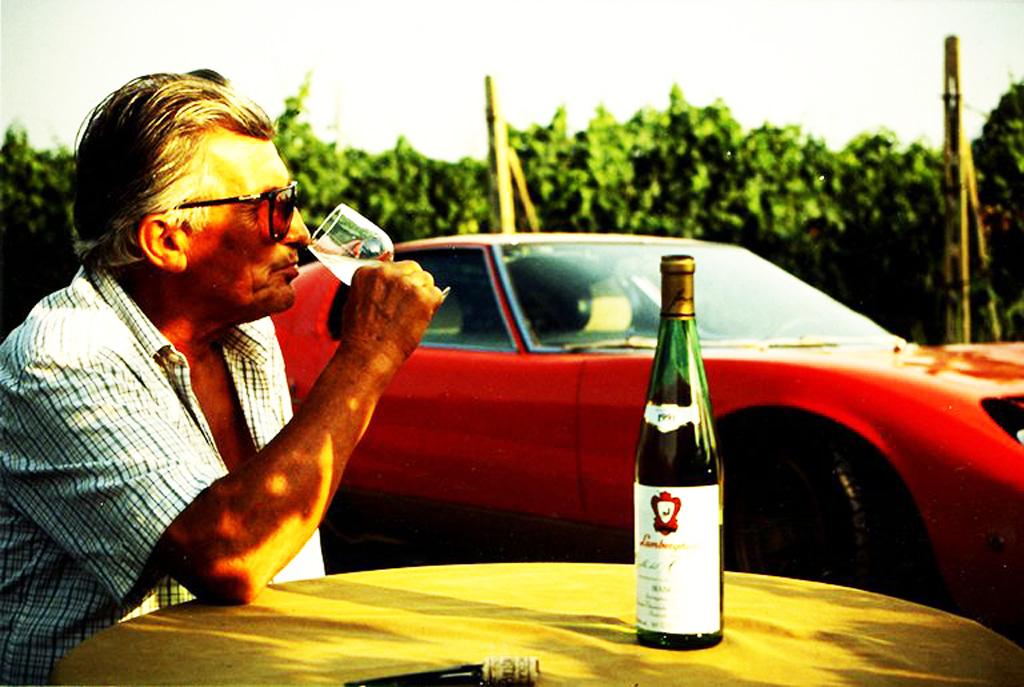 ferruccio lamborghini e il vino