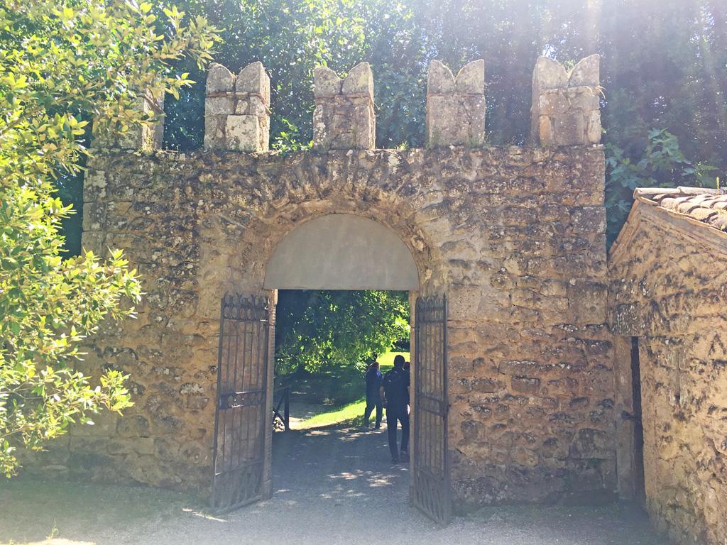 ingresso parco di bomarzo