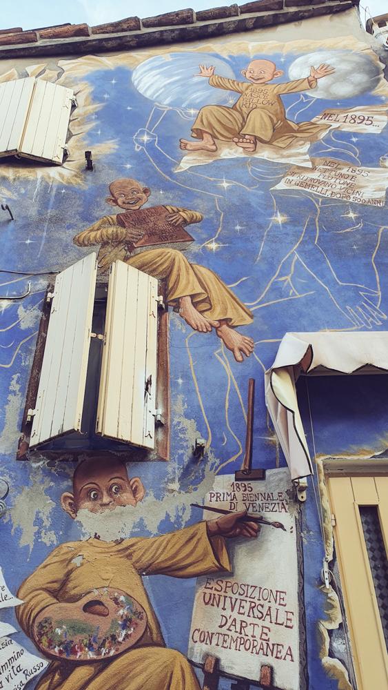 murales invenzioni dell'800