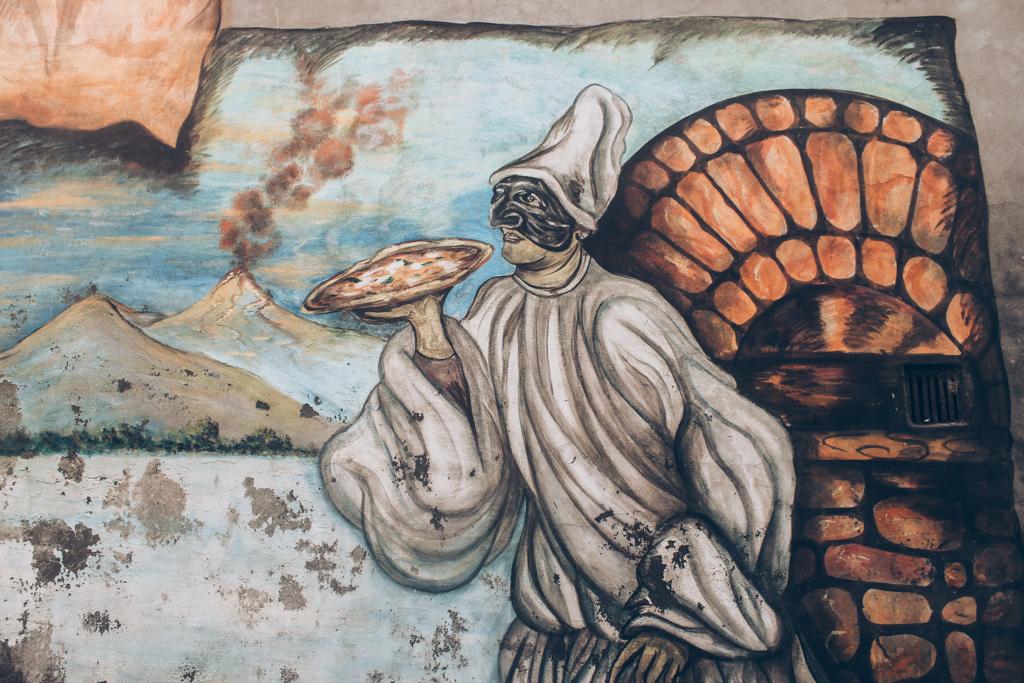 murales sulle invenzioni dell'800