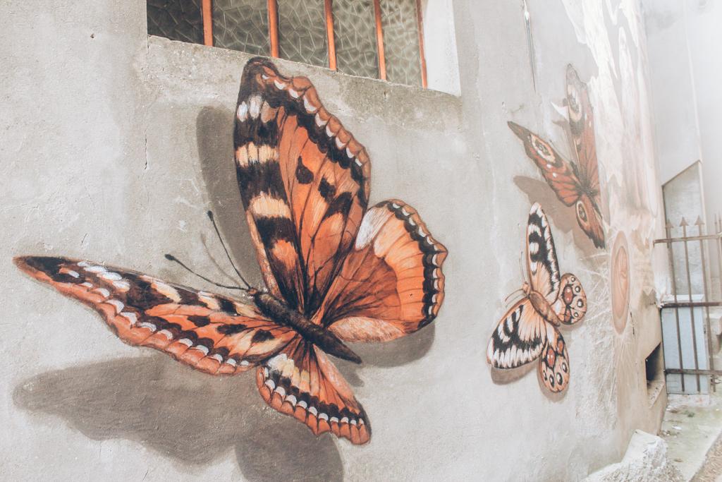 borghi con murales