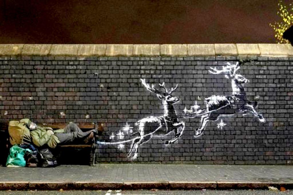 opere più famose dello street artist bansky